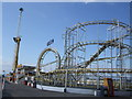 TQ3103 : Turbo Roller Coaster -  Brighton Pier by Paul Gillett