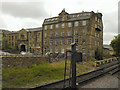 SE0336 : Bridgehouse Mill, Haworth by David Dixon