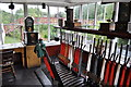 NZ2154 : Beamish Signal box by Ashley Dace