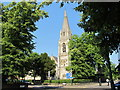 TQ2484 : Christ Church with St. Laurence, Christchurch Avenue / Willesden Lane, NW6 by Mike Quinn