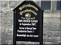 G8761 : Church board, Ballyshannon by Kenneth  Allen