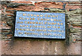 ST6176 : Plaque on Wickham Court by David Lally