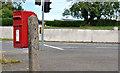 J4481 : Letter box, Ballyrobert near Bangor by Albert Bridge