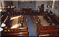 TL1803 : St Peter's Church - interior view in 1980 by John Webb