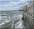 TQ3701 : Rough seas near Saltdean by Paul Gillett