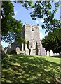 SK1752 : Tissington Church by derek dye