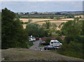 SP6989 : Foxton view by Alan Murray-Rust