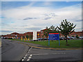 NZ3370 : North Tyneside General Hospital, perimeter road by Richard Dorrell