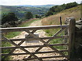 SK0287 : Access gate to NT Lantern Pike by Peter Turner