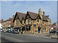 SP7660 : Building on the corner of Wellingborough Road and Whitworth Road by Alan Murray-Rust