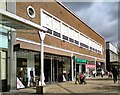 SJ8990 : Woolworths divided into three by Gerald England