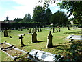 SU2944 : Cemetery opposite Amport parish church by Basher Eyre
