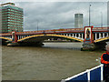TQ3078 : A span of Vauxhall Bridge by Robin Webster