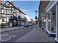 SJ5441 : Whitchurch High Street by David Dixon