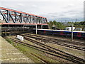TQ2282 : Old Oak Common - West London line bridge by David Hawgood