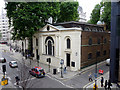 TQ3281 : St Botolph's Without, Aldersgate, London EC2 by Christine Matthews