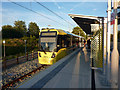 SJ8293 : St Werburgh's Road Metrolink stop, Chorlton by Phil Champion