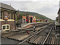 SE8191 : North Yorkshire Moors Railway, Levisham by David Dixon