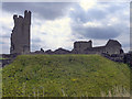 SE6183 : Helmsley Castle by David Dixon