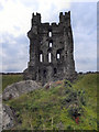 SE6183 : Helmsley Castle East Tower by David Dixon
