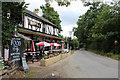 TQ0192 : Dumb Bell Public House, Shire Lane, Horn Hill, Chalfont St Peter, Buckinghamshire by Christine Matthews