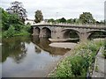 SO5968 : Teme Bridge, Tembury Wells by Christine Johnstone