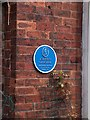 SE2935 : Leeds Civic Trust plaque on Atkinson Grimshaw's house by Neil Theasby
