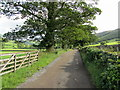 SE0658 : Access Lane to Howgill by Chris Heaton