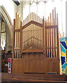 TQ6836 : The Organ in Lamberhurst Church by Julian P Guffogg