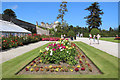 O2116 : Rose Garden, Powerscourt, County Wicklow, Ireland by Christine Matthews