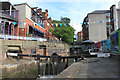 SJ8497 : The Rochdale Canal, Canal Street, Manchester by Michael Fox