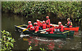 J3268 : Canoeing on  the Lagan, Belfast (2) by Albert Bridge
