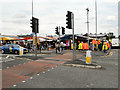 SJ8695 : Longsight Market by David Dixon