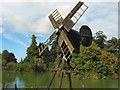 SU8712 : Windpump - Weald & Downland Museum by Paul Gillett