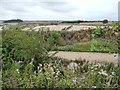 SE5113 : Track to Barnsdale Bar Quarry by Christine Johnstone