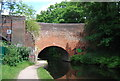 SP0484 : Worcester and Birmingham Canal, bridge 83 by N Chadwick