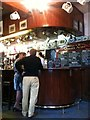 SE6051 : Inside the Mason's Arms - details of bar.  York by hayley green