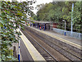 SJ9186 : Hazel Grove Railway Station by David Dixon