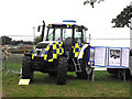 ST8324 : Police tractor by Jonathan Kington