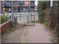 TQ2083 : End of footpath on Winchelsea Road by David Howard