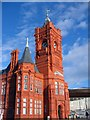 ST1974 : The Pierhead Building, Cardiff Bay by Adrian Platt