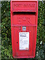 TM2771 : White Horse Postbox at Wells Corner by Adrian Cable