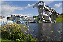 NS8580 : Falkirk Wheel by Ian Capper