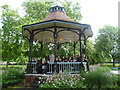 TQ3176 : Myatts Fields Park bandstand by Ian Yarham
