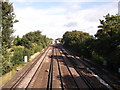TQ4467 : Railway to Petts Wood by David Anstiss