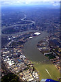 TQ4179 : The Thames Barrier from the air by Thomas Nugent