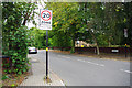 SP0583 : 20 zone sign on Oakfield Road, Selly Park by Phil Champion