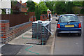 SP0583 : An obstructed footway, Oakfield Road, Selly Park by Phil Champion