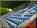 NX0660 : South Stand Stair Park by Andy Farrington