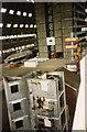 TL0846 : Airship Hangar No. 2 - interior to east end in 1994 by John Webb